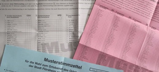 Meine Ergebnisse bei der Kommunalwahl 2011