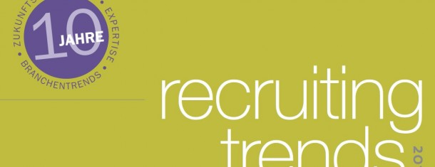 Studie Recruiting-Trends 2012 von Prof. Dr. Tim Weitzel
