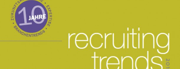 Studie Recruiting-Trends in Grounternehmen 2012