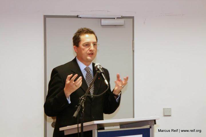 97 % Vertrauen für Marcus Reif. Hauptversammlung der CDU Flörsheim am Main am Donnerstag, 12. November 2009