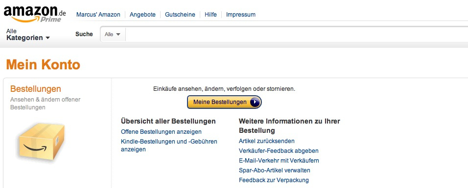 Meine Amazon-Shopperei