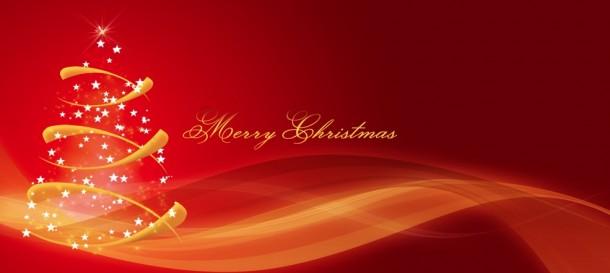 Fröhliche Weihnachten und ein gutes neues Jahr