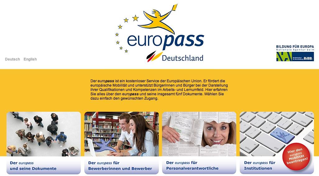 Die praktische Bewerbungsunterlage – europäischer Lebenslauf