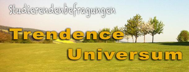 über Trendence- und Universum-Rankings