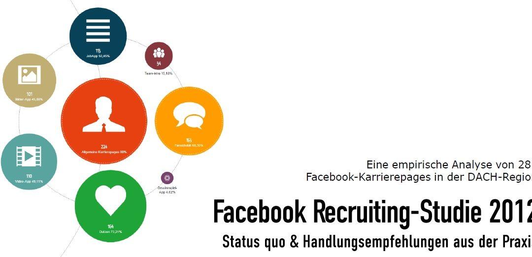 Die Atenta Facebook-Recruiting-Studie 2012
