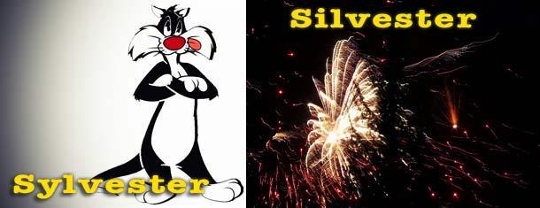 Sylvester oder Silvester? Und was sind Schreibstile?