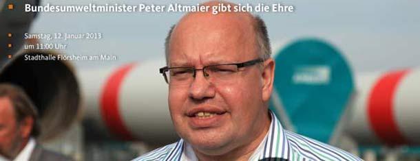 Neujahrsempfang mit Peter Altmauer
