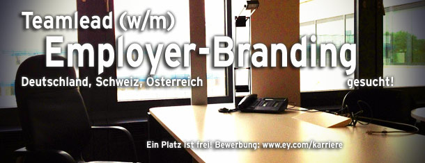 Wir bei Ernst & Young verstärken uns im Recruiting & Employer-Branding