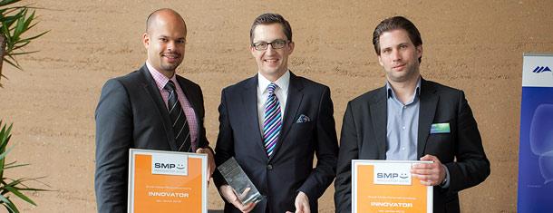 """Ausgezeichnet als """"SMP Best Innovator"""" des Jahres"""