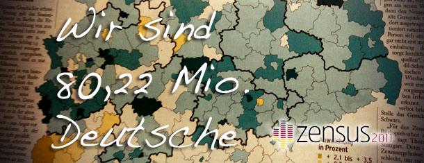 Wir sind 80,22 Mio. Deutsche – Ergebnisse des Zensus 2011 mit Sicht auf Flörsheim am Main