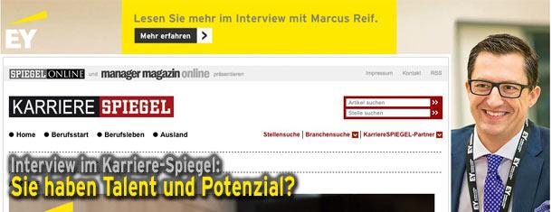 Interview Karriere-Spiegel: Sie haben Talent und Potenzial?