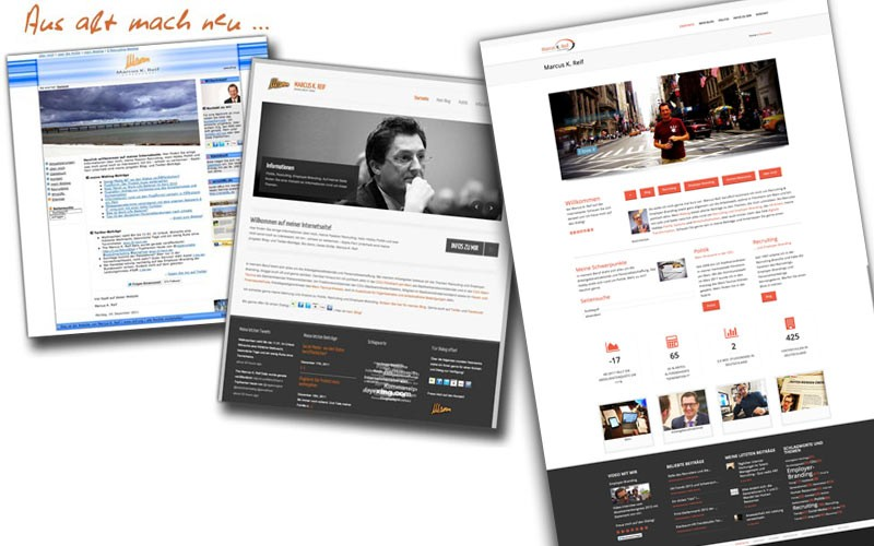 Meine neue Internetseite ist frisch online