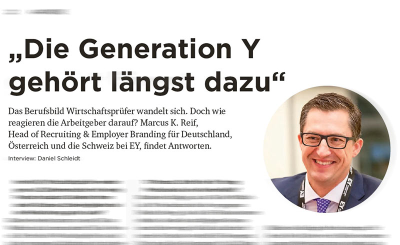 """F.A.Z.-Hochschulanzeiger: """"Die Generation Y gehört längst dazu"""""""