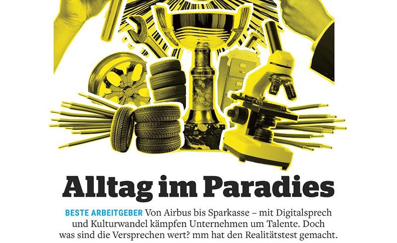 """Manager-Magazin: """"Alltag im Paradies"""""""