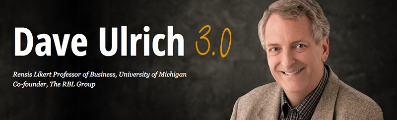 """Dave Ulrich 3.0 – Wie bringen wir die HR-Funktion """"up to speed""""?"""