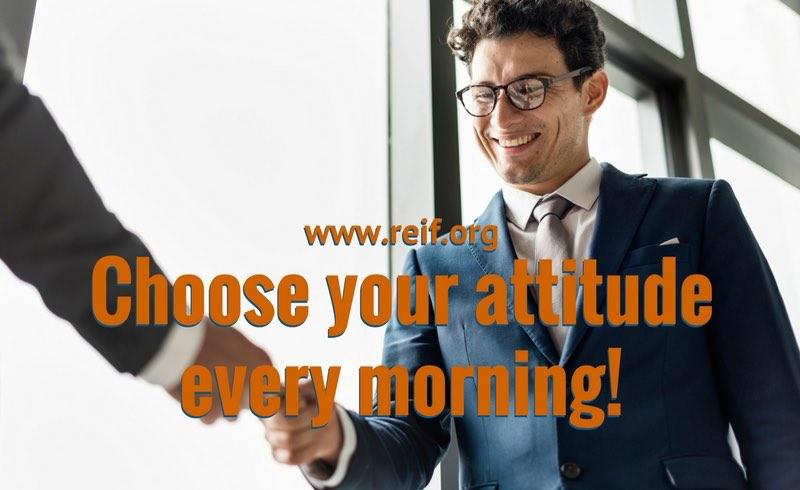 Choose your attitude – alles eine Frage der Haltung