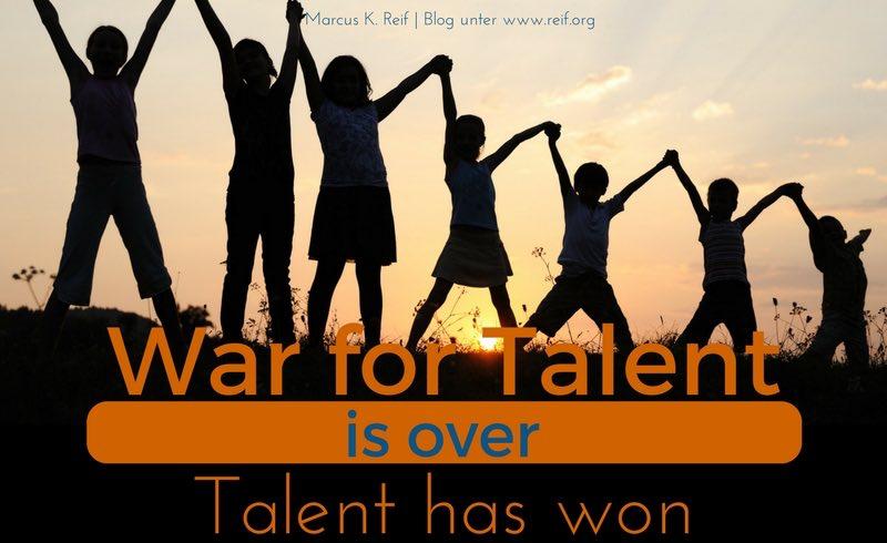 Der War for Talent ist vorbei, die Talente haben gewonnen