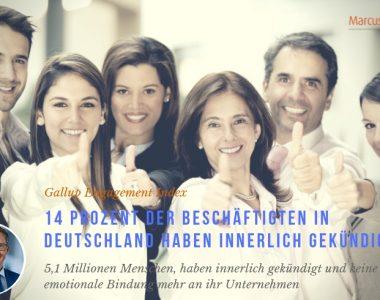 14 Prozent der Beschäftigten in Deutschland haben innerlich gekündigt