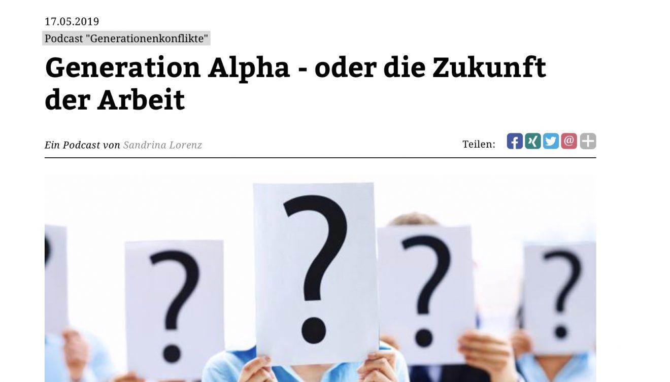 Manager-Magazin-Podcast zu Generationen: Generation Alpha - oder die Zukunft der Arbeit