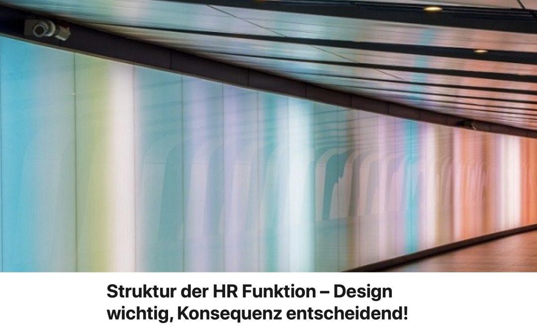 Gastartikel von Walter Jochmann: Struktur der HR-Funktion