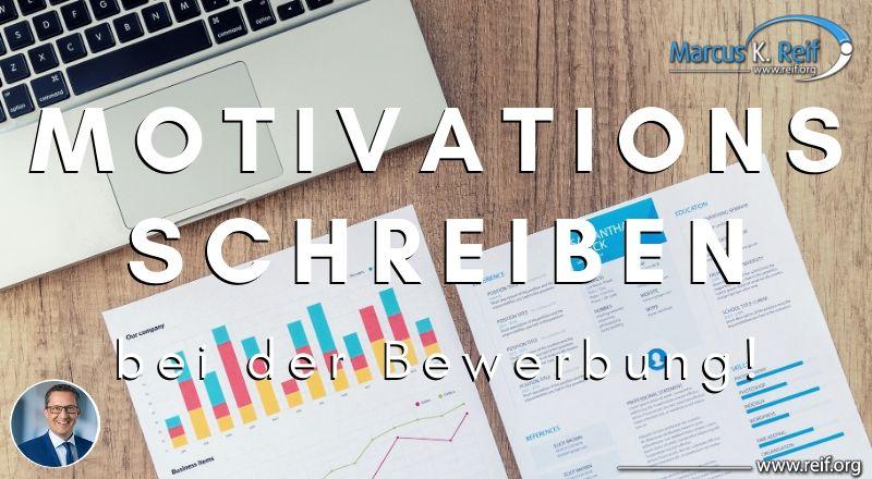 Motivationsschreiben bei Bewerbungen