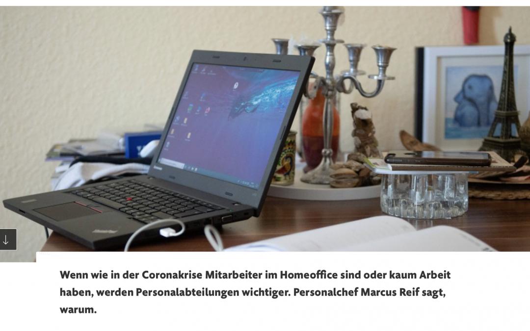 """HOMEOFFICE IN DER CORONAKRISE: """"Der Präsenz-Fetisch in Unternehmen kann abgelegt werden"""""""