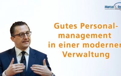 Gutes Personalmanagement in einer modernen Verwaltung