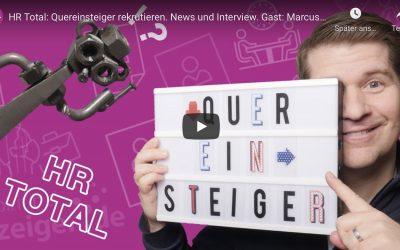 HR-Talk, der Videocast von Christoph Athanas zum Thema Quereinsteiger