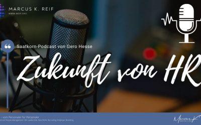 Saatkorn-Podcast zur Zukunft von HR