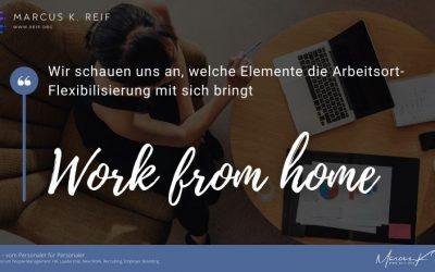 Work from home? Schauen Sie gesamtheitlich auf die Flexibilisierung