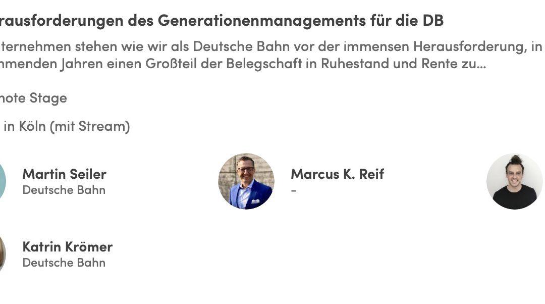 Gespräch über modernes People-Management auf der Zukunft Personal in Köln