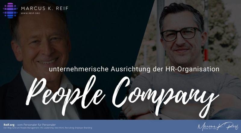 "Replik auf ""People Company"" statt HR Business Partner"