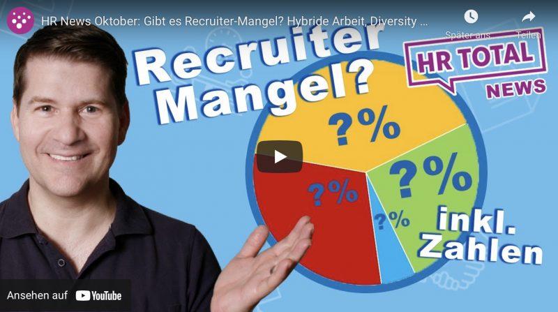 Gibt es einen Recruitermangel in Deutschland?